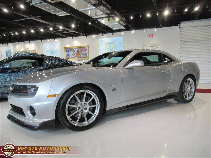 2010 Chevrolet Camaro for sale at The New Auto Toy Store in Fort Lauderdale FL