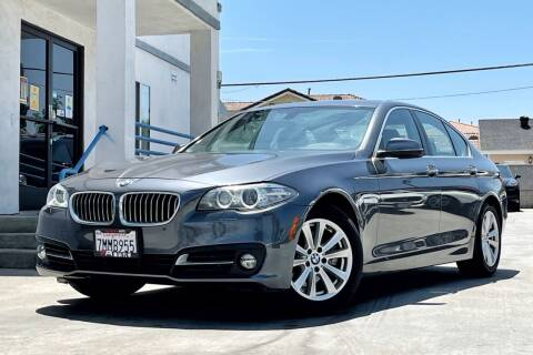 2015 BMW 5 Series for sale at Fastrack Auto Inc in Rosemead CA