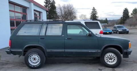 1994 Chevrolet S-10 Blazer for sale at Direct Auto Sales+ in Spokane Valley WA