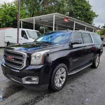 2016 GMC Yukon XL for sale at America Auto Wholesale Inc in Miami FL