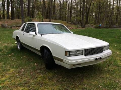 1988 Chevrolet Monte Carlo for sale at Classic Car Deals in Cadillac MI
