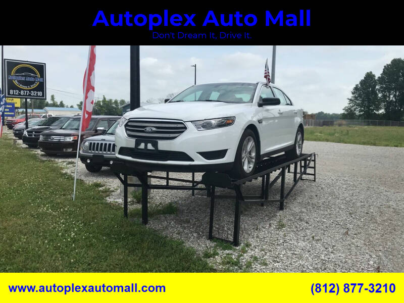 2017 Ford Taurus for sale at Autoplex Auto Mall in Terre Haute IN