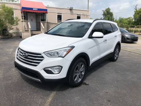 2015 Hyundai Santa Fe for sale at Saipan Auto Sales in Houston TX