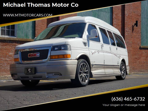 2012 GMC Savana Cargo for sale at Michael Thomas Motor Co in Saint Charles MO