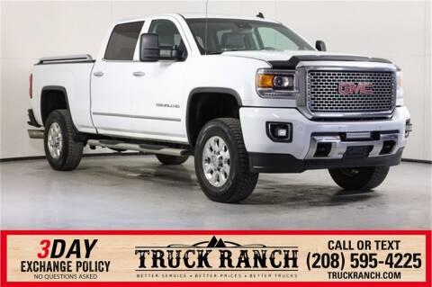 2015 GMC Sierra 2500HD for sale at Truck Ranch in Twin Falls ID
