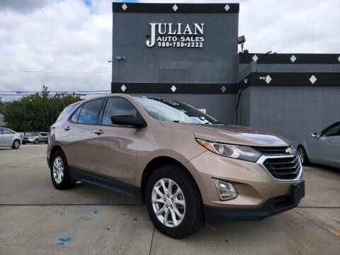 2019 Chevrolet Equinox for sale at Julian Auto Sales, Inc. - Number 1 Car Company in Detroit MI