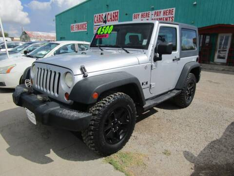 2008 Jeep Wrangler for sale at Cars 4 Cash in Corpus Christi TX