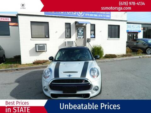 2015 MINI Hardtop 2 Door for sale at S & S Motors in Marietta GA