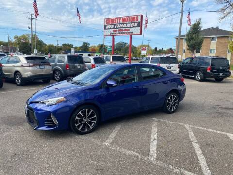 2017 Toyota Corolla for sale at Christy Motors in Crystal MN