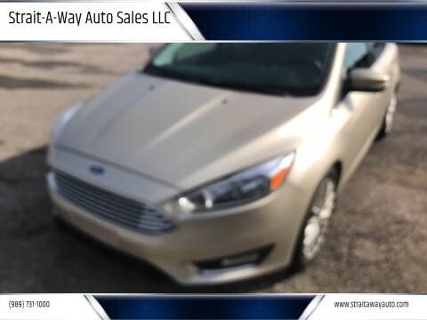 2017 Ford Focus for sale at Strait-A-Way Auto Sales LLC in Gaylord MI