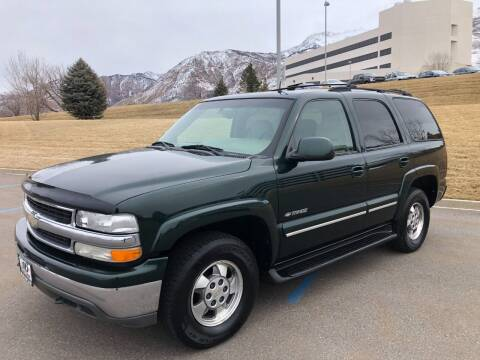 2002 Chevrolet Tahoe for sale at DRIVE N BUY AUTO SALES in Ogden UT