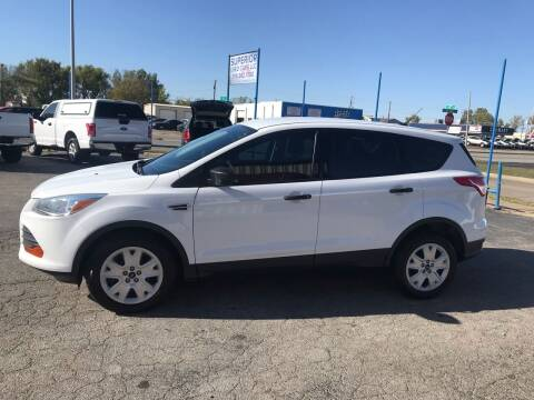 2016 Ford Escape for sale at Superior Used Cars LLC in Claremore OK