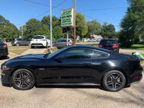 2019 Ford Mustang for sale at SS AUTO PRO'S in Otsego MI