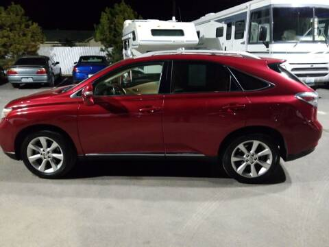 2010 Lexus RX 350 for sale at Freds Auto Sales LLC in Carson City NV
