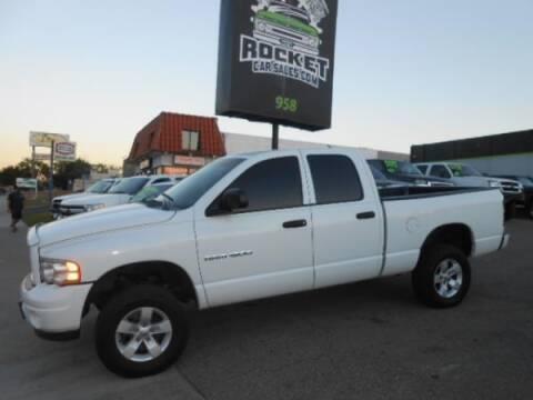 2002 Dodge Ram Pickup 1500 for sale at Rocket Car sales in Covina CA