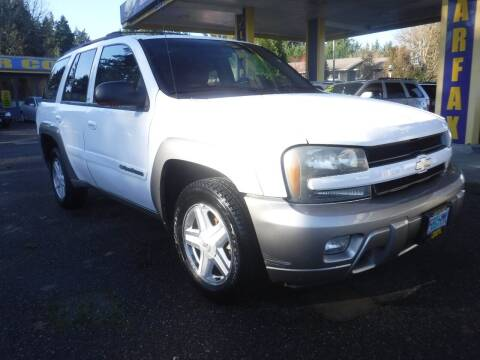2002 Chevrolet TrailBlazer for sale at Brooks Motor Company, Inc in Milwaukie OR