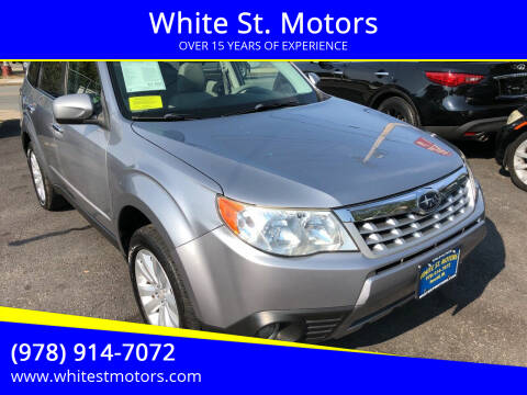 2011 Subaru Forester for sale at White St. Motors in Haverhill MA