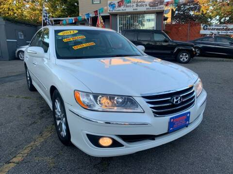 2011 Hyundai Azera for sale at Affordable Auto Sales in Irvington NJ