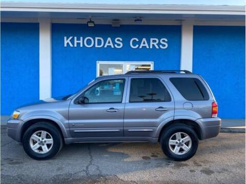 2007 Ford Escape Hybrid for sale at Khodas Cars in Gilroy CA