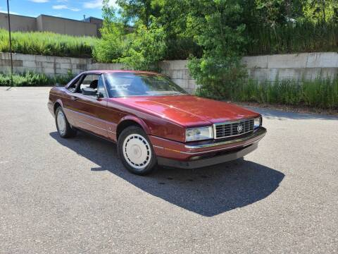 1989 Cadillac Allante for sale at Velocity Motors in Newton MA