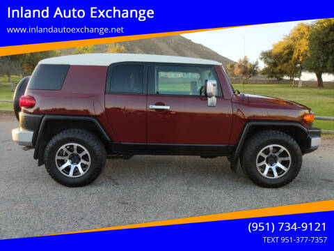 2008 Toyota FJ Cruiser for sale at Inland Auto Exchange in Norco CA