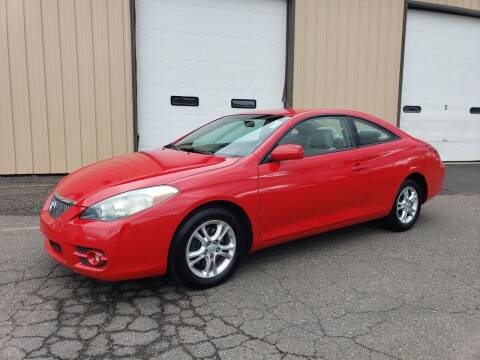 2007 Toyota Camry Solara for sale at Massirio Enterprises in Middletown CT