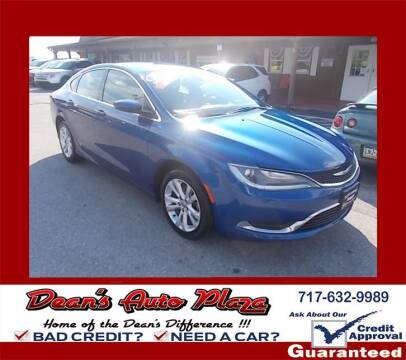 2015 Chrysler 200 for sale at Dean's Auto Plaza in Hanover PA