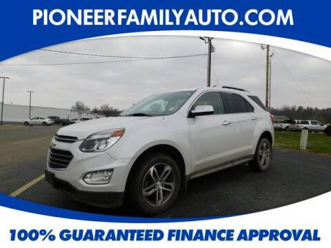 2016 Chevrolet Equinox for sale at Pioneer Family auto in Marietta OH