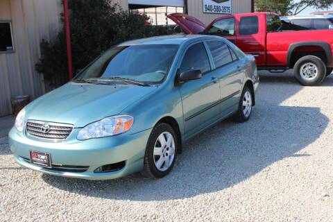 2006 Toyota Corolla for sale at Gtownautos.com in Gainesville TX