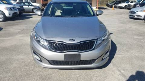 2014 Kia Optima for sale at FAMILY AUTO BROKERS in Longwood FL