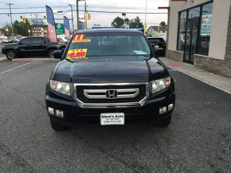 2011 Honda Ridgeline for sale at Steves Auto Sales in Little Ferry NJ