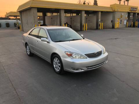 2004 Toyota Camry for sale at Fast Lane Motors in Turlock CA