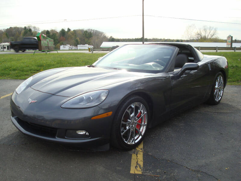 2009 Chevrolet Corvette for sale at Great Lakes Car Connection in Metamora MI