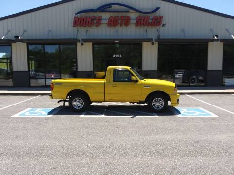 2006 Ford Ranger for sale at DOUG'S AUTO SALES INC in Pleasant View TN