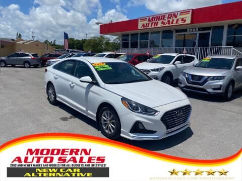 2018 Hyundai Sonata for sale at Modern Auto Sales in Hollywood FL
