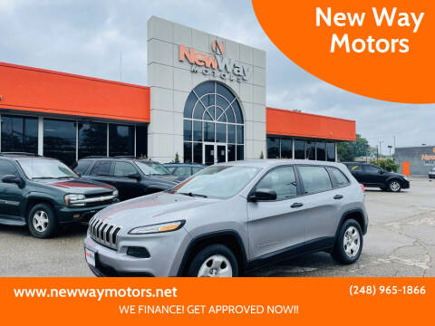 2016 Jeep Cherokee for sale at New Way Motors in Ferndale MI