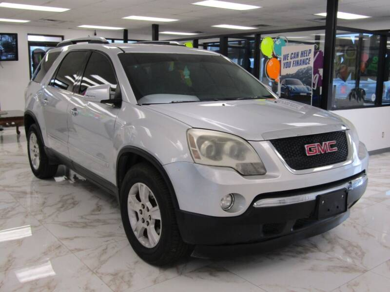 2009 GMC Acadia for sale at Dealer One Auto Credit in Oklahoma City OK