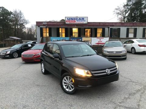 2014 Volkswagen Tiguan for sale at Unicar Enterprise in Lexington SC