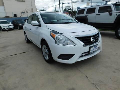 2016 Nissan Versa for sale at AMD AUTO in San Antonio TX