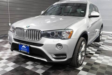 2016 BMW X3 for sale at TRUST AUTO in Sykesville MD
