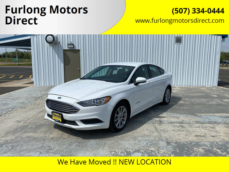 2017 Ford Fusion Hybrid for sale at Furlong Motors Direct in Faribault MN