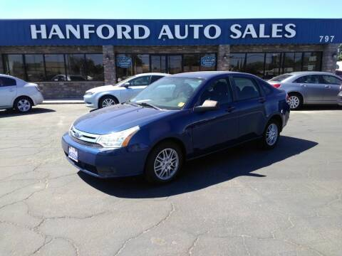 2009 Ford Focus for sale at Hanford Auto Sales in Hanford CA