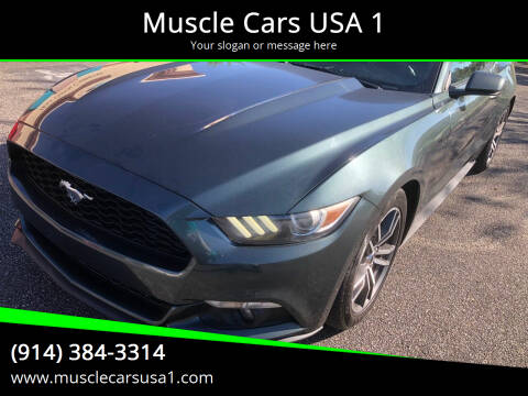 2015 Ford Mustang for sale at Muscle Cars USA 1 in Murrells Inlet SC
