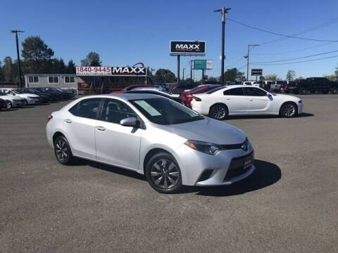 2015 Toyota Corolla for sale at Maxx Autos Plus in Puyallup WA