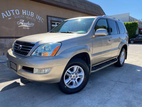 2004 Lexus GX 470 for sale at Auto Hub, Inc. in Anaheim CA