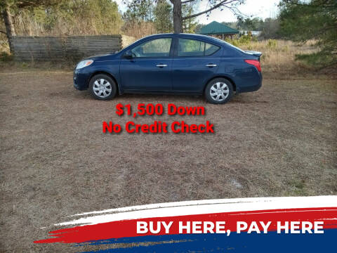 2014 Nissan Versa for sale at BP Auto Finders in Durham NC