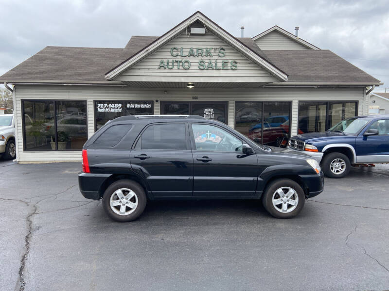 2009 Kia Sportage for sale at Clarks Auto Sales in Middletown OH