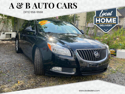2012 Buick Regal for sale at A & B Auto Cars in Newark NJ