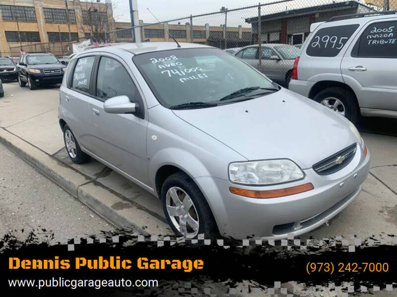 2008 Chevrolet Aveo for sale at Dennis Public Garage in Newark NJ