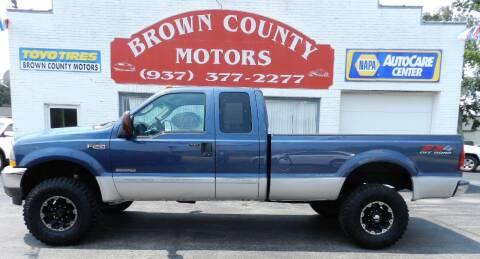 2004 Ford F-250 Super Duty for sale at Brown County Motors in Russellville OH